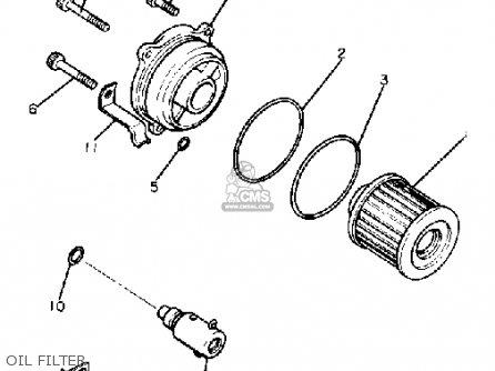 Yamaha XV750 VIRAGO 1982 (C) USA parts lists and schematics
