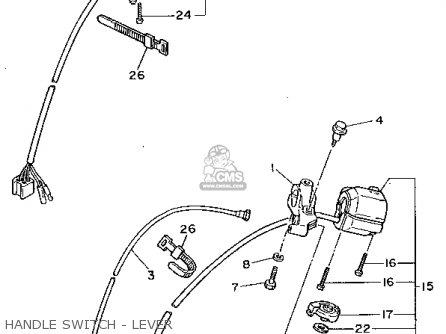 Yamaha XV750 VIRAGO 1992 (N) USA parts lists and schematics