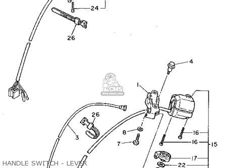 Yamaha Xv750 Virago 1995 (s) Usa parts list partsmanual