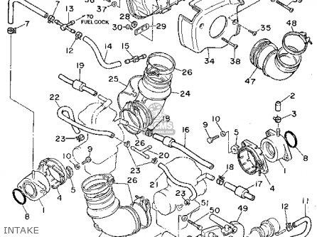 Yamaha XV750 VIRAGO 1995 (S) USA parts lists and schematics