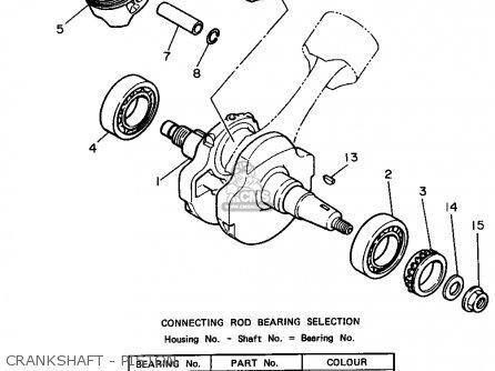 Yamaha XV750 XV750C VIRAGO 1994 (R) USA CALIFORNIA parts