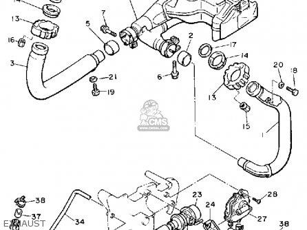 Yamaha Xv750ac Virago 1990 parts list partsmanual partsfiche
