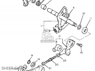 Yamaha XV750C VIRAGO 1988 (J) CALIFORNIA parts lists and