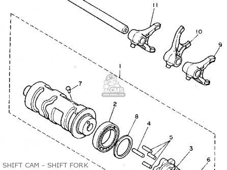 Yamaha XV750C VIRAGO 1992 (N) CALIFORNIA parts lists and