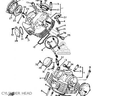 Yamaha Xv920 Virago 1982 (c) Usa parts list partsmanual