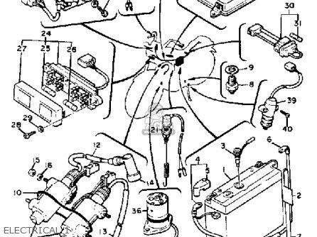 Yamaha XV920 VIRAGO 1982 (C) USA parts lists and schematics