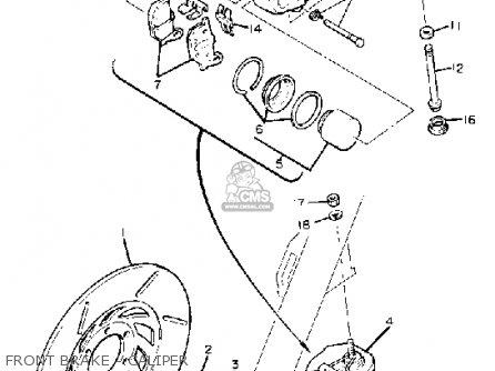 Yamaha Xv920 Virago 1983 (d) Usa parts list partsmanual
