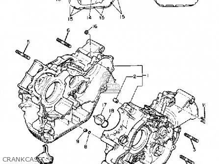 Yamaha Xv920k Virago 1983 parts list partsmanual partsfiche