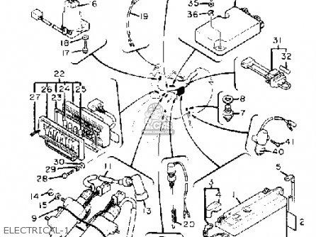 Yamaha Xv920m Virago 1983 (d) Usa parts list partsmanual