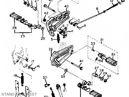 Yamaha XV920M VIRAGO 1983 (D) USA parts lists and schematics