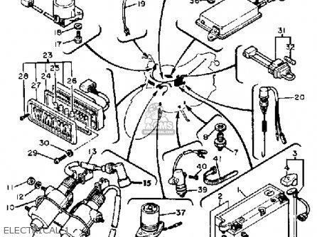 1982 Xv920 Wiring Diagram Xv500 Wiring Diagram Wiring