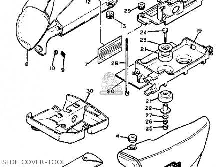 Yamaha Xv920r Virago 1982 (c) Usa parts list partsmanual