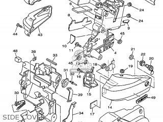Yamaha XVS1100 1999 5EL1 FRANCE 295EL-351F1 parts lists