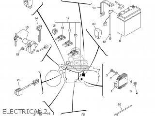 Yamaha XVS1100 2002 5PBB ENGLAND 1A5PB-300E2 parts lists