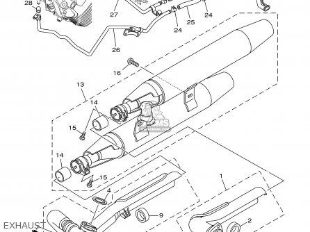 Yamaha Xvs1100 Xvs1100c Vstar Custom 2000 (y) Usa