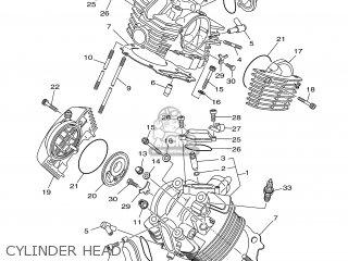 Yamaha XVS1100A 2001 5KSB AUSTRIA 115KS-300E1 parts lists