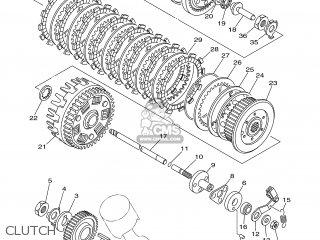 Yamaha XVS1100A 2005 5YSF EUROPE 1D5YS-300E1 parts lists