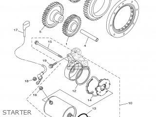 Yamaha XVS1100A 2005 5YSF SPAIN 1D5YS-352S1 parts lists