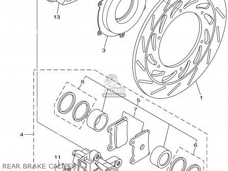 Yamaha XVS1100A XVS1100AC VSTAR CLASSIC 2002 (2) USA