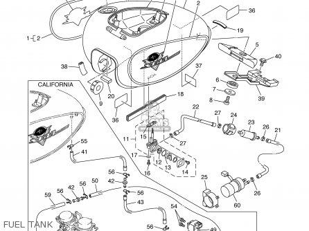 Yamaha Xvs1100at Xvs1100atc Vstar Silverado 2003 (3) Usa