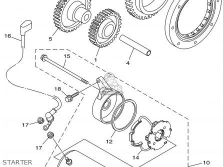 Yamaha Xvs1100l/lc 1999 parts list partsmanual partsfiche