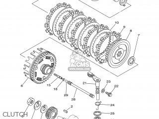 Yamaha XVS125 2004 5JX8 GERMANY 1C5JX-332G1 parts lists