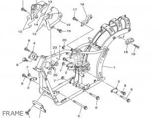 Yamaha XVS250 2001 5KR2 SPAIN 115KR-352S2 parts lists and
