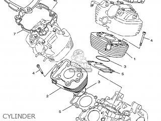 Yamaha XVS650 1997 4VR1 BELGIUM 274VR-300E4 parts lists