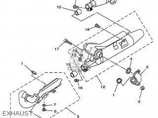 Yamaha XVS650 1997 4VR1 ITALY 274VR-300E4 parts lists and