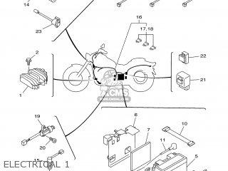 Yamaha XVS650 1998 4XP4 AUSTRIA 184XP-361E2 parts lists