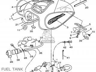 Yamaha XVS650 1998 4XR4 ENGLAND 284VR-300E1 parts lists