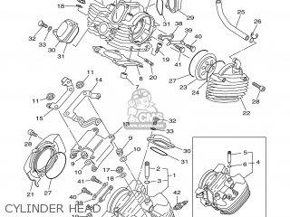 Yamaha XVS650 2000 4VRC GERMANY 104VR-332G2 parts lists