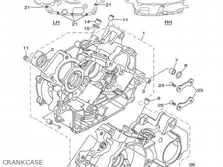 Yamaha XVS650 XVS650C VSTAR CUSTOM 2000 (Y) USA CALIFORNIA