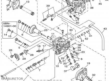 Yamaha Xvs650a Xvs650ac Vstar Classic 2001 (1) Usa