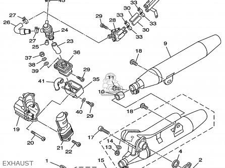 Yamaha Xvs650al/alc 1999 parts list partsmanual partsfiche