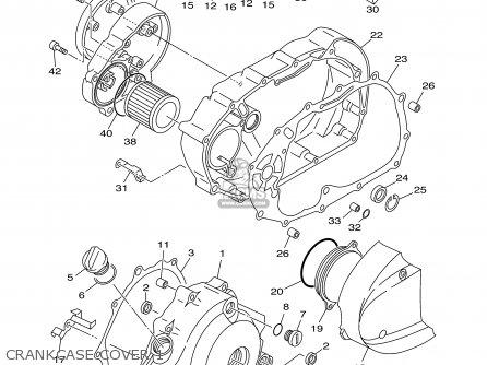 Yamaha Xvs650atr/atrc 2003 parts list partsmanual partsfiche