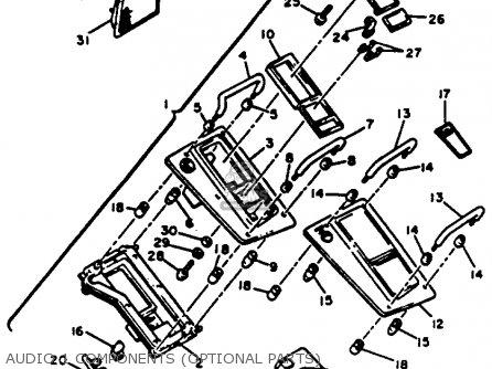 Yamaha XVZ12 VENTURE ROYALE 1984 (E) USA parts lists and