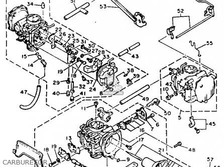 Yamaha Xvz12 Venture Royale 1984 (e) Usa parts list