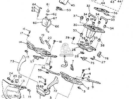 Yamaha Xvz12d Venture Royale 1989 (k) Usa parts list