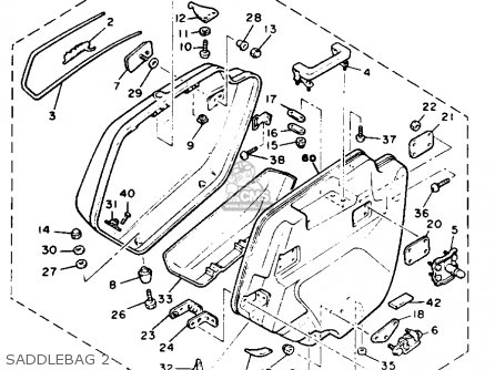 Yamaha Xvz12dkc2 Venture Royale 1984 (e) Usa parts list