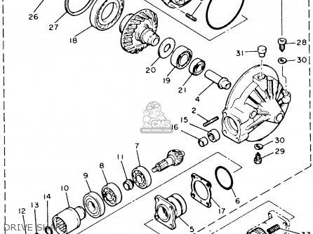 Yamaha Xvz12tdk Venture Royale 1983 parts list partsmanual