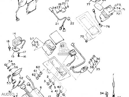 Yamaha XVZ13D VENTURE ROYALE 1990 (L) USA parts lists and