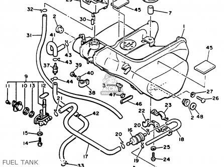 Yamaha Xvz13d Venture Royale 1991 (m) Usa parts list