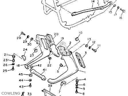 Yamaha Xvz13d Venture Royale 1993 (p) Usa parts list