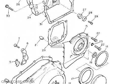 Yamaha Xvz13da Venture Royale 1990 parts list partsmanual