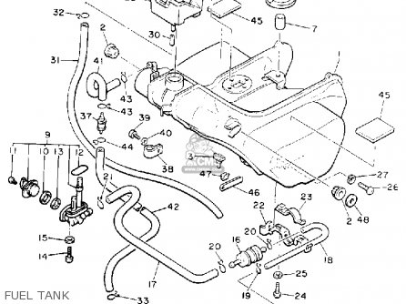 Yamaha Xvz13dc Venture Royale 1990 (l) California parts