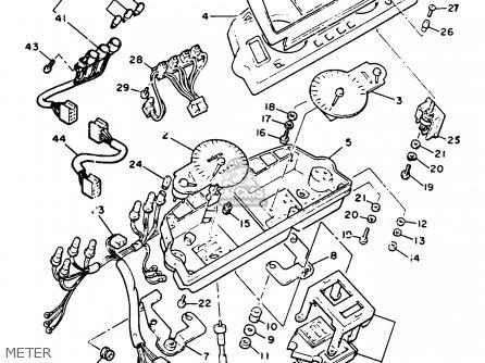 Yamaha Xvz13dc Venture Royale 1991 (m) California parts
