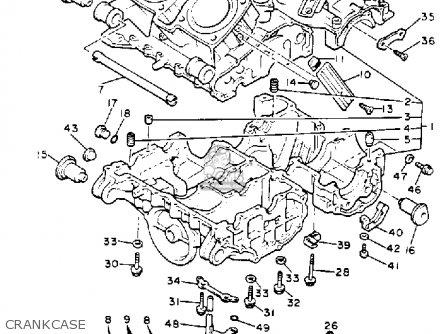 Yamaha Xvz13de Venture Royale 1993 parts list partsmanual