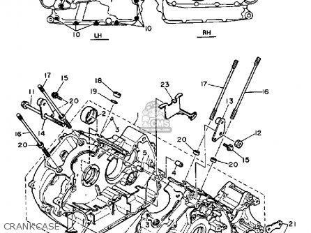 Yamaha XZ550R VISION 1982 (C) USA parts lists and schematics