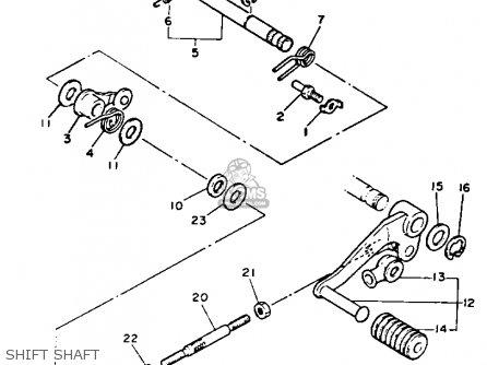 Yamaha Xz550r Vision 1983 (d) Usa parts list partsmanual